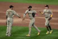 Padres continue to roll, shut out host Rockies